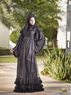 Abaya by Almotahajiba. Spring Collection 2014.