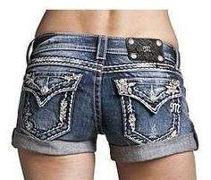 Miss Me shorts -- I want them sooooooooooooo bad!