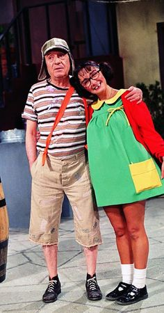 EL CHAVO DEL 8  Y LA CHILINDRINA Ahhh loved to watch this as a kid  :-)