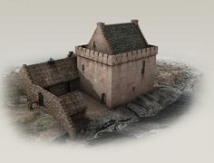 Commissioned Scottish castle - All the roof done - Page1