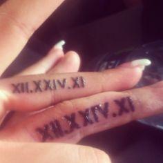 dating tattoos