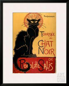Tournee du Chat Noir, c.1896, by Théophile Alexandre Steinlen