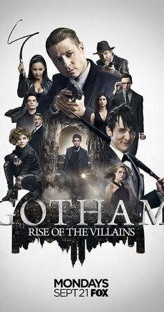 Gotham (TV Series 2014– ) photos, including production stills, premiere photos and other event photos, publicity photos, behind-the-scenes, and more.