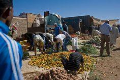 Morocco - Zagora - Vallée du Draâ - Agdz - Le souk