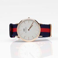 Classic Oxford watch by Daniel Wellington  www.danielwellington.com