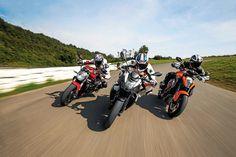 Galería de imágenes de la comparativa entre supernaked bicilíndricas con la KTM 1290 Super Duke R, la EBR 1190 Sx y la Ducati Monster 1200 | Motociclismo.es