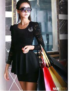 From FB Ropa de moda asiatica y japonesa. love this fit.