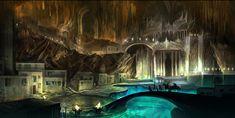 ArtStation - Underground Castle, Anndr Pazyniuk