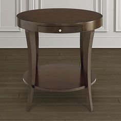 Den Accent Table = Bassett Round Lamp Table