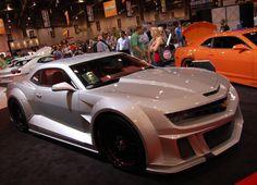 Muscle Cars   Chevrolet Camaro at Sema Show