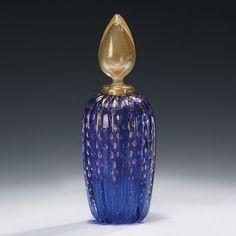 Decorative Crafts Venetian Glass Bottle 7428