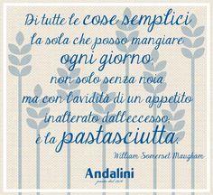 Come poter rinunciare ad un buon piatto di pasta, soprattutto di domenica? 🍝  www.andalini.it