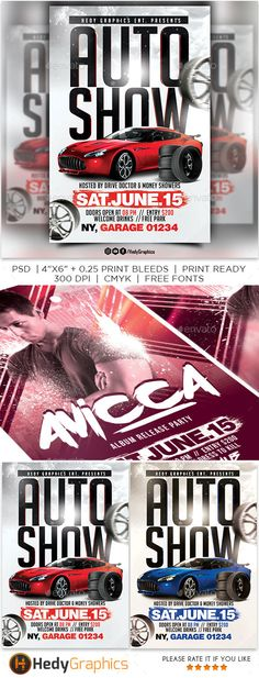 Car Show Flyer Pinterest Flyer Template Template And Business