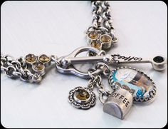 Coffee Charm Bracelet, Java Jewelry, Morning Coffee Bracelet, Coffee Jewelry  by BlackberryDesigns, $48.00
