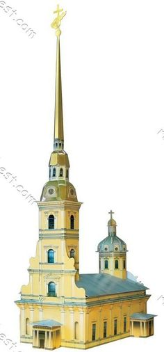 Saint Peter and Paul Cathedral Paper Model Kit
