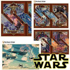 star wars art part 4 for poster movie posters Vintage Retro poster Matte Kraft Paper Wall Sticker