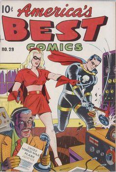 Comic Book Cover For America's Best Comics #29