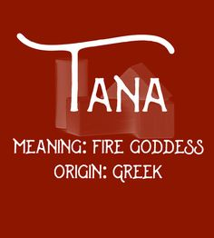 Tana - Uncommon Girl Baby Names That Aren't Overused Yet - Photos