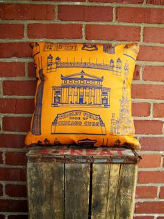 Chicago Landmark Pillow