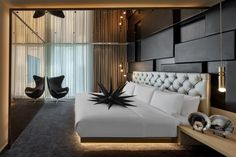 A list of the coolest, trendiest and most stylish places to stay in London for your next trip there. London England Hotels, London Hotels, Ampersand Hotel, Hotel Bedroom Design, Kensington And Chelsea, Leicester Square, Room Additions, Marriott Hotels, Hotel Reviews