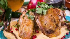 Chimichurri Brined Turkey w/ Mashed Potatoes from @cristinacooks! #homeandfamily