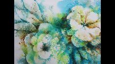 """""""Floral Splash II"""" in Watercolor"""