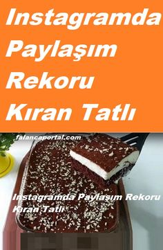 Easy Cake Recipes, Sweet Recipes, Turkish Delight, Turkish Recipes, Homemade Beauty Products, Oreo, Recipies, Cheesecake, Food And Drink