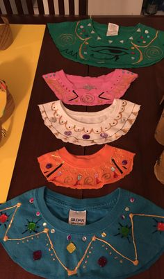 Egyptian DIY collars