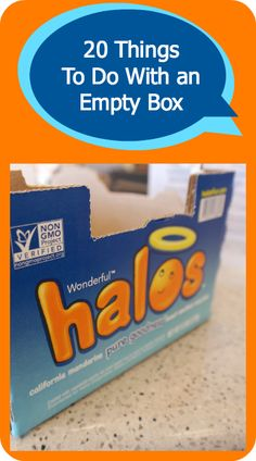 What to do with old boxes? Entertain your kids!