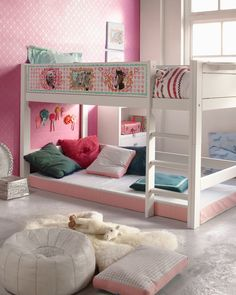 aves room when shes bigger???        kids loft bed (girls) HAPPYHORSE  LIFE TIME