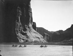 Cañon de Chelly, 1904. In the heart of the Navajo Nation, where stone and sky dwarf humans on horseback, the canyon is one of the most stunn...