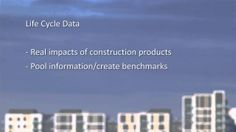 BAM's Jesse Putzel on Life Cycle Analysis and Environmental Product Declaration Life Cycle Assessment, Supply Chain, Life Cycles, Sustainability, Environment, Learning, Tv, School, Free