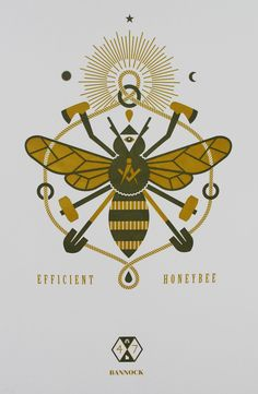 Efficient Honeybee by The Mandate Press