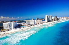 Cancun..... gorgeous beaches.... would LOVE to go back!