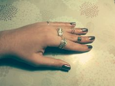 Mirror style nails