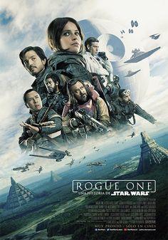 エピソード4へと繋がる物語を描く番外編的な作品「ローグ・ワン / スターウォーズ・ストーリー」の新たなポスターが2枚公開された。 帝国軍の基地がある惑星スカリフと、反乱軍の基地がある惑星ヤヴィン4の風景が描かれている。