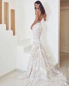 Lace Mermaid Wedding Dress, Mermaid Dresses, Bridal Dresses, Wedding Gowns, Bridesmaid Dresses, Island Wedding Dresses, Pin Up, Greece Wedding, Resorts