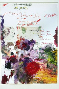"""keroiam: """" Cy Twombly """""""