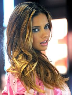 Adrianna Lima. My favorite Victoria Secret model. Love her!!