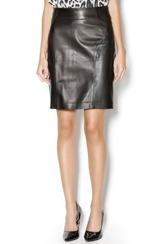 West Coast Leather Side Zip Skirt | West coast, Minis and Leather