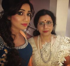 "shreyaghoshal: ""Happy Mother's Day Ma:) and to all the Mothers out there! Thank you for being there with me every moment of my life taking care of me protecting me loving me the way no one can ever do. . I love you much more Ma and now it's my turn"""