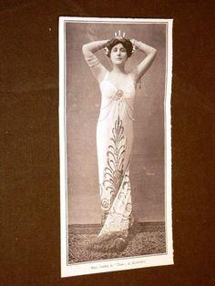 Mary Garden | La cantante d'opera Mary Garden nel 1908