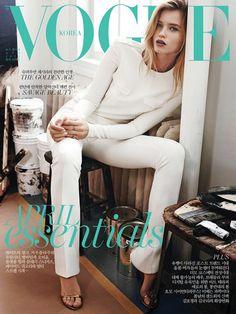 designscene:Abbey Lee Covers Vogue Korea April 2015