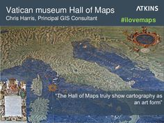 "Vatican museum Hall of Maps: ""Truly shows cartography as an art form"" #ilovemaps"