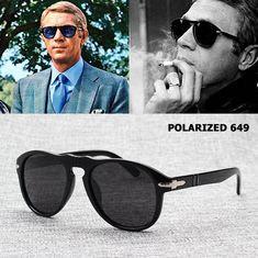 d101a440f72 Classic Vintage JackJad 649 Aviation Style Polarized Sunglasses Men