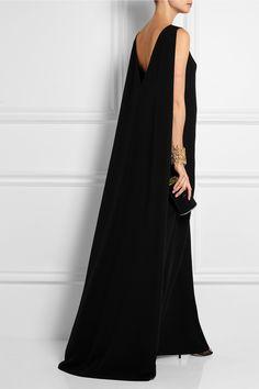 Valentino | Robe longue du soir en cady de soie