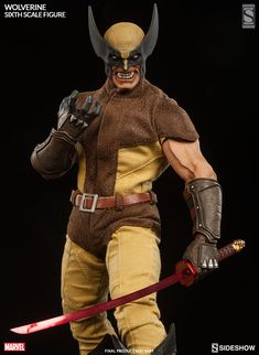 Marvel Wolverine Sixth Scale Figure by Sideshow Collectibles | Sideshow Collectibles