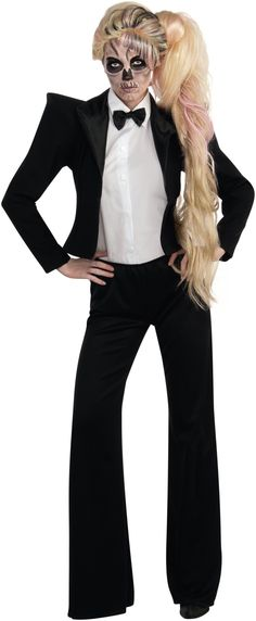 OMG. I was considering this Gaga look last #Halloween. Can't believe there's an actual costume for it! So great.
