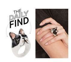 """""""The Daily Find: Nach Bijoux Ring"""" by polyvore-editorial ❤ liked on Polyvore featuring DailyFind"""