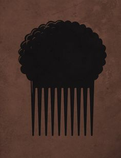 Afro Comb by biotwist